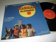 SOUNDTRACK Pat Williams/Gene Redding HARRAD SUMMER Capitol Orange Label NM/NM-