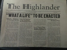 1940, Jan 11, Baldwin High School Birmingham Michigan The Highlander Newspaper