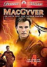 MacGyver - The Complete Fourth Season (DVD, 2005, 5-Disc Set)  SEALED