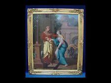 BAROCK *Mariä Heimsuchung* 18.Jahrhundert, Ölgemälde/LW. Signiert:JG Bergmüller.