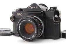 Near MINT / CANON F-1 Early model + FD 50mm F/1.8 SLR 35mm film camera fro Japan