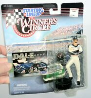 NEW Starting Lineup New 1997 Winners circle Dale Earnhardt Figurine and card