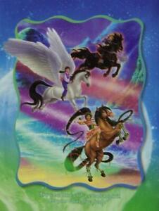 Jigsaw puzzle Children's Riding on Moonbeams 100 piece NEW fantasy mythology