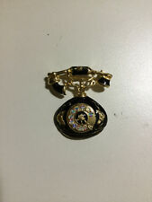 Old Style Telephone Brooch