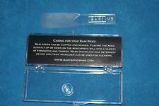 Bari Original Seiries Synthetic Bass Clarinet Reed, Medium Soft, 2.5-3.0, BRBCMS