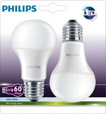 PHILIPS Bombilla  LED 9W 806Lm E27 A60 (Blister 2 Unidades) - Blanco Natural