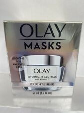Olay Brightening Overnight Gel Face Mask with Vitamin C 1.7oz