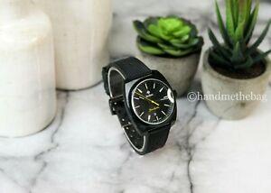 Zodiac (ZO9959) Grandhydra Ronda Swiss Black Rubber Stainless Steel Case Watch
