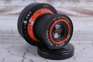 Leitz Elmar Lens 3.5/50 mm RF M39 LEICA Zeiss Eleitz Wetzlar