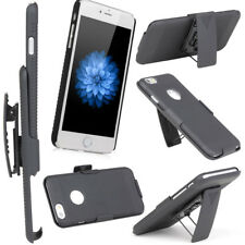Hybrid Rugged Belt Clip KickStand Holster Case for Apple iPhone 6 6S 4.7 inch