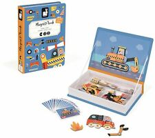 Janod RACERS MAGNETI'BOOK Activity Toy BNIP