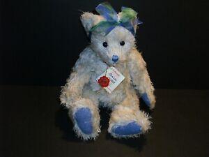 "15"" Hermann Original Teddy Clarissa Mohair Limited Bear ALL ID"