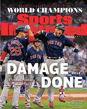 JD Martinez Boston Red Sox Champs Sports Illustrated Cover Photo - select size