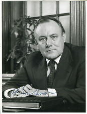 Robert Muldoon (+) autograph Prime Minister of New Zealand, signed photo
