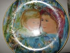 EDNA HIBEL plate Michelle and Anna Mothers Day 1991