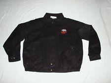 New Mexico Lobos NCAA Tehama Faux Suede / MicroSuede Casual Mens Jacket XL NEW