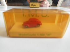 IMU VW Volkswagen Beetle in Red on 1:160 in Box