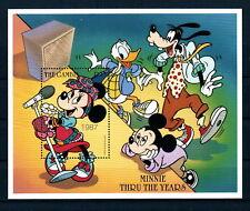 Gambia Disney Stamps - Minnie Thru The Ages Souvenir sheet - MNH