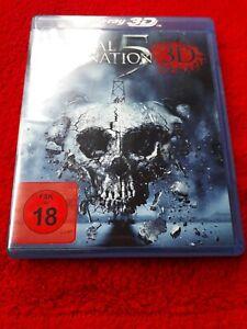 Final Desitnation 5 in 3D Blu-ray