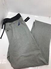 Nautica NEW Heather Gray Mens Size XL Drawstring Lounge Pants Sleepwear