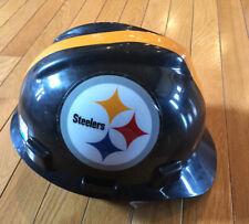 Pittsburgh Steelers NFL Construction Hard Hat Safety Helmet Medium MSA Display