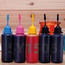 5x 50Ml EDiBLE Ink Refill for Canon Pixma & Epson Refillable Cartridges Printer