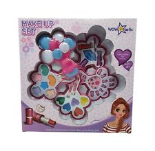 Girls Makeup Set 33pcs Princess Real Glitter Eye Shadow Lips Nail Kids Make Up