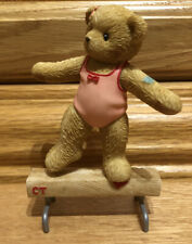 """New listing Cherished Teddies TIMBERLE """"Friendship Gives Your Life Good Balance """" #117007"""