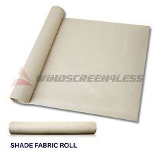 Custom 6 Ft Beige Fabric Roll Fence Privacy Sun Wind Screen Uv Block Shade Cloth