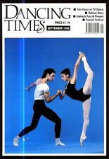 DANCING TIMES MAGAZINE 1996 SEPT CHARLOTTE BROOM LESLIE HURRY JOHAN KOBBORG