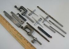 Lot of Dial Indicator Accessories, Contact Points, Holding Post/Bars etc, L-3516