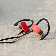 OVER EAR CLIP HEADPHONE HOOK SPORTS GYM JOGGING RUNNING EARPHONE WITH MIC  E