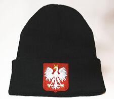POLAND POLSKA, polish emblem, godło Polski, patriotic Hat / beanie embroidered