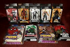 Marvel Legends LOT DEADPOOL PUNISHER SPIDERMAN VENOM BLACK PANTHER AVENGERS RARE