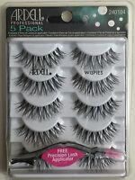 (5 Pairs) Ardell Fashion Lashes WISPIES Natural Multipack False Eyelashes Black