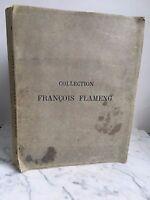Catalogue de Vente Art Tableaux anciens modernes miniature François Flameng 1919
