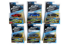 Jada Fast and Furious Assortment Set of 7 include Mitsubishi Lancer  1/55 Wave 3
