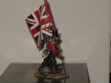 CR002  KING & COUNTRY CRIMEAN WAR BRITISH INFANTRY SUBALTERN WITH QUEENS COLOUR