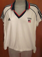 TEAM USA girls soccer jersey Olympics #11 Bedoya ADIDAS youth XL