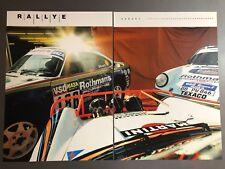 """2006 Porsche """"Safari"""" 911 SC 4X4, 959, & 911 SC Advertising 2 Poster Set RARE!!"""