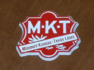 MISSOURI KANSAS TEXAS LINES MKT RAILROAD Vtg RUBBER FRIGE MAGNET Standings Board
