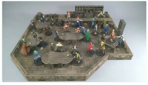 Tabletop Set Tavern Guest Room Complete Terrain Dungeons & Dragons/Warhammer