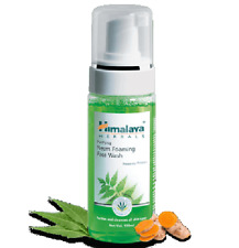 Ayurveda Himalaya Purifying Neem Foaming Face Wash 50ml Free Shipping