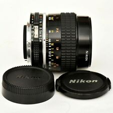 Micro Nikkor 55mm f/2.8 AIS spr shp Macro Lens. Mint-. Tested. See Tst Imgs