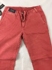 POLO RALPH LAUREN THE STRAIGHT FIT BRICK CHINO PANTS ( W34x 34) $ 145