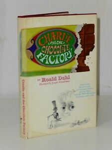 1st Issue Charlie And The Chocolate Factory Roald Dahl Knopf '64 US HB $3.95