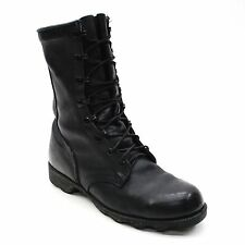 Men's Size 7.5 Wide Distressed Ro-Search US Military Boots 4-97 Black Wellco NS