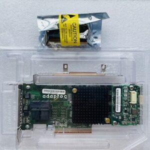 Adaptec ASR-7805 1G 6GB/s SAS PCIe RAID Controller Card 1GB Cache w/ Batter