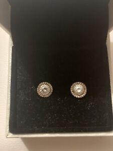 Genuine Pandora rose gold Earrings Gorgeous