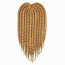 4 Packs Set Hair HAVANA MAMBO TWIST Medium 12 inches Crochet Braid Off Color #30